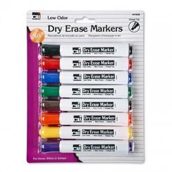 Dry Erase Marker, Chisel Tip 8 ct.