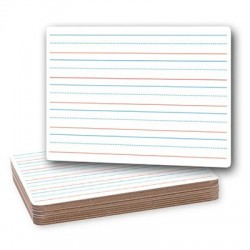 "Double-Sided Dry Erase Boards, 9"" x 12"" Single"