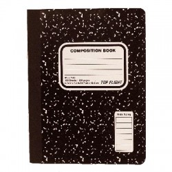 "Composition Book, 8"" x 10-1/2"", 100 sheets"