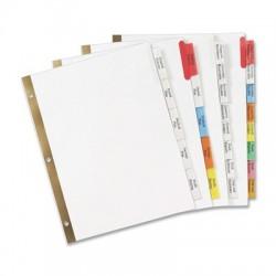 Big Tab Paper Dividers - 8 Tab, Multicolor