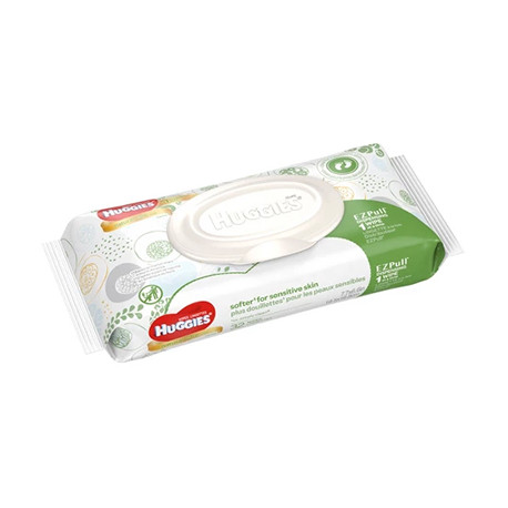Huggies Wipes, Unscented 56 ct.