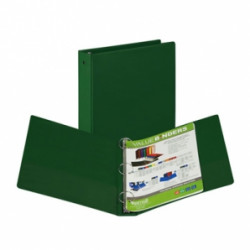 "1"" Vinyl Ring Binder, Green"