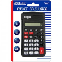 Pocket Calculator Black