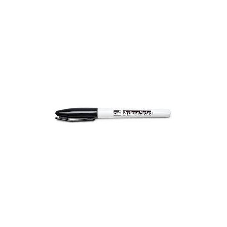 Dry Erase Marker Pocket Style Black