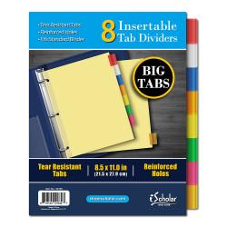 8 Tab Insert Dividers