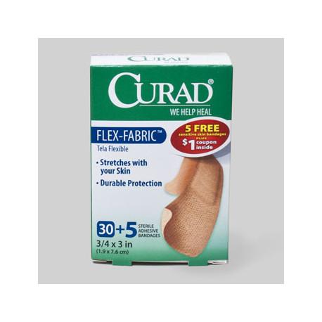 Fabirc Band-Aids, 30 ct