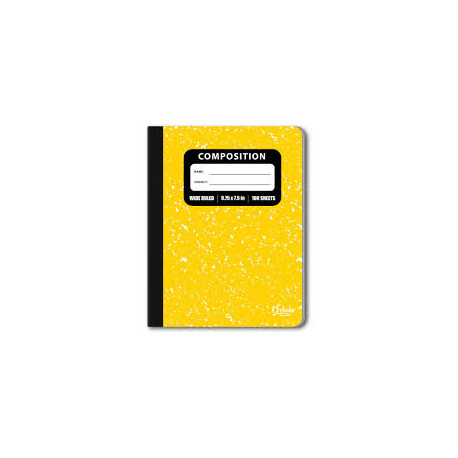 Composition Book, Purple Cover 100 sheet