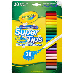 Washable Super Tip Marker 20 ct.
