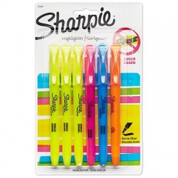 Sharpie Accent Highlighters, 6 ct.