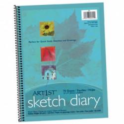 Sketch Diary 12x9 Spiral