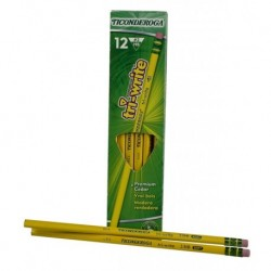 Ticonderoga Tri-Write Pencil, 12 ct