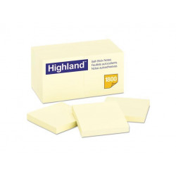 Highland Self-Stick Removable Notes