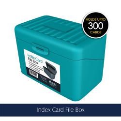 Index File Card Box