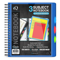 Poly 3 Subject Notebook 150CT