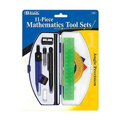 Mathematics Tool Set 11PC