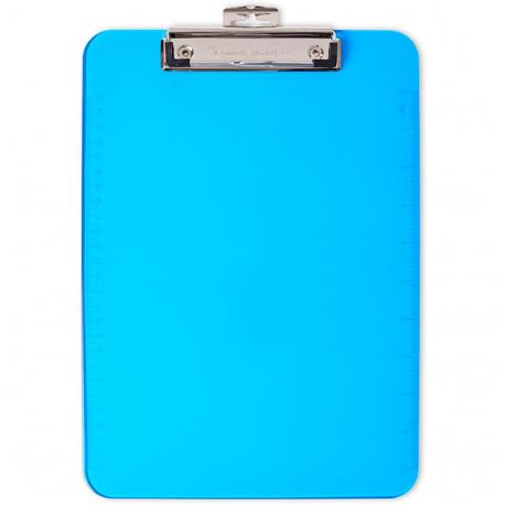 Clipboard neon blue