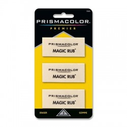 Magic Rub Eraser 3 Pk.