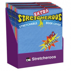 Stretchable Book Covers in assorted colors