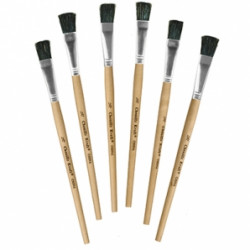 Short Handle Easel Brush - Single