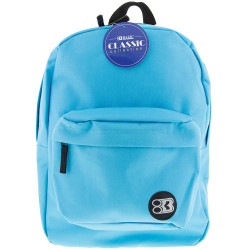 "Bazic 15"" Backpack in assorted colors"