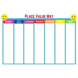 Place Value Mat grades 3-5