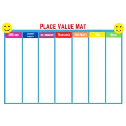 Place Value Mat grades 3-5