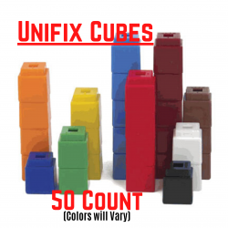 Unifix Cubes 50 count