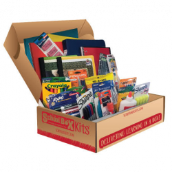 BBBS Middle School Supply Kit