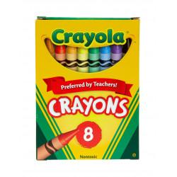Crayola Regular Size Crayons 8 ct