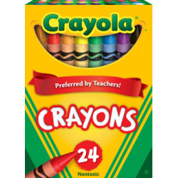 Crayola Regular Size Crayons 24 ct