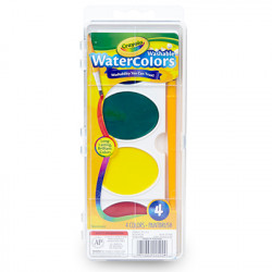 Crayola Jumbo Washable Watercolor Set of 4
