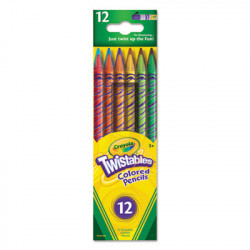 Caryola Twistable Crayons, 12 ct
