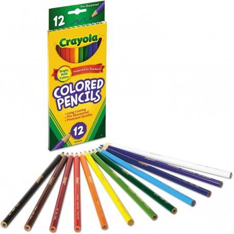 Crayola Colored Pencils, 12 ct