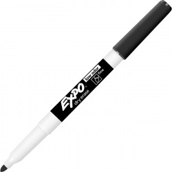 Expo Low Oder Fine Tip Marker Black