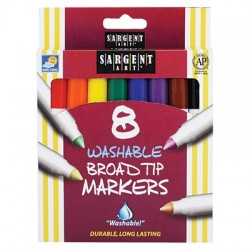 Washable Broadline Markers 8 ct.