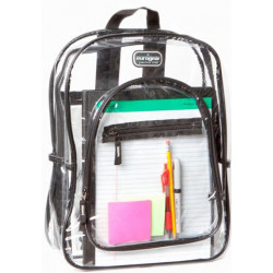"Clear Backpack 17"""