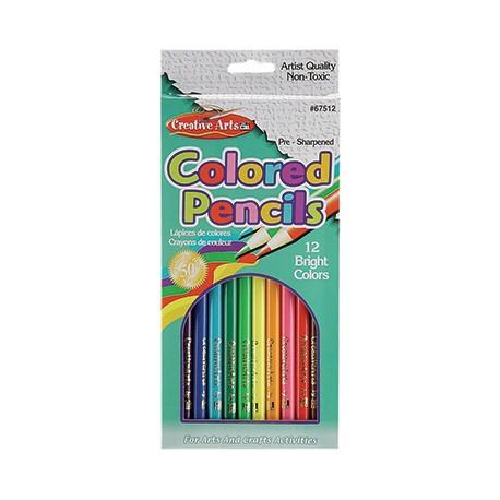 Colored Pencils, 12 ct.