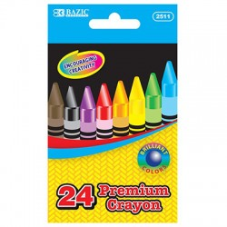 Crayons Regular Size, 24 ct.