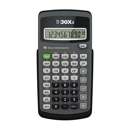 Scientific Calculator, TI-30XA