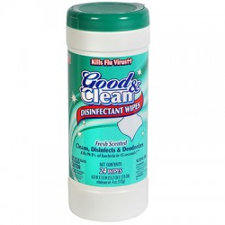 Disinfectant Wipes, 24 ct.