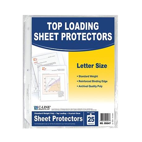 Clear Sheet Protectors, 25 ct.