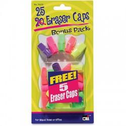 Cap Erasers, 20 ct.
