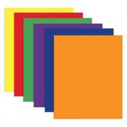 2 Pocket Folder, Yellow