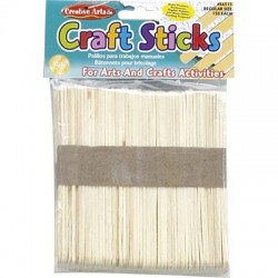 Craft Sticks, 150 ct. Regular Natural