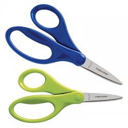 "Fiskars for Kids Scissors, 5"" Pointed"