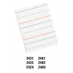 Pacon Multi-Program Handwriting Paper 10-1//2 x 8 Inches White Pack of 500-2421