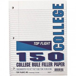 Notebook Filler Paper, 150 sheets, College Rule