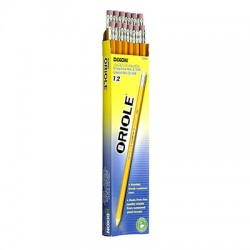 Dixon No. 2 Oriole Pencil, Dozen, Pre-sharpened