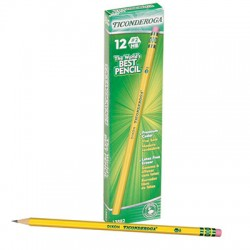 No. 2 Ticonderoga Pencil, Soft, Dozen