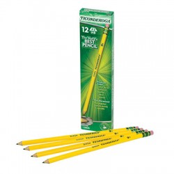 Ticonderoga No. 2 Pencils, Pre-sharpened, 12 Ct.